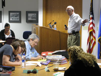 Stanley K. Schultz presenting